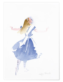 Póster  Alice in Profile - Lesley Fotherby
