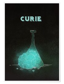 Póster  Marie Curie - RNDMS