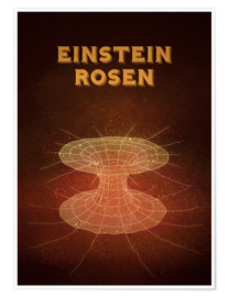 Póster Einstein-Rosen Bridge