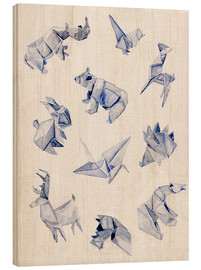 Madera  Origami animals - Jennifer McLennan