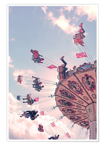 Póster Swing ride