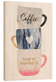 Madera  A cup of happiness - Elisabeth Fredriksson