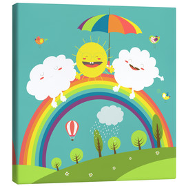Lienzo  Friendly weather - Kidz Collection