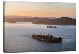 Lienzo  Alcatraz island in the bay of San Francisco - Matteo Colombo