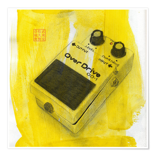 Póster Effect Pedal
