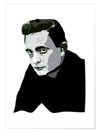 Póster  Johnny Cash - Anna McKay