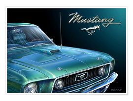 Póster 1969 MUSTANG
