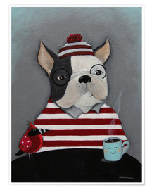 Póster Boston Terrier