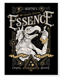 Póster  The Dark Crystal Essence Elixir - Barrett Biggers