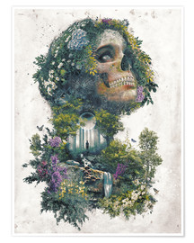 Póster  Life and Death Surrealism - Barrett Biggers
