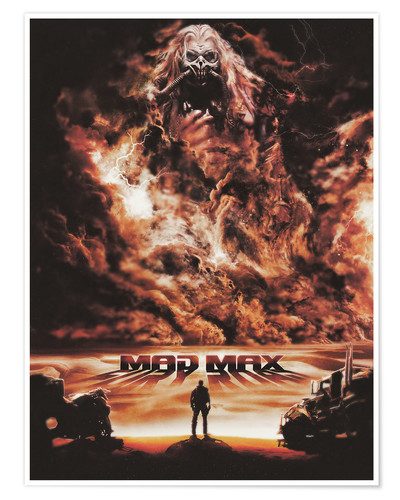 Póster Mad Max Fury Road
