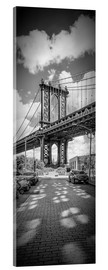 Metacrilato  NEW YORK CITY Manhattan Bridge Panorama - Melanie Viola