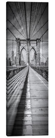 Lienzo  NEW YORK CITY Brooklyn Bridge Panorama - Melanie Viola