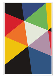 Póster  SWISS GEOMETRY - THE USUAL DESIGNERS