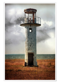 Póster On old light house in Estonia
