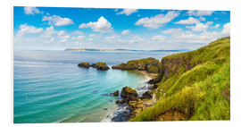 Forex  Coast of Northern Ireland on a beautiful summer day