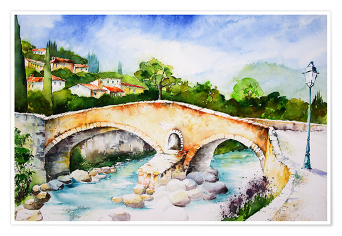 Póster Pont Roma in Pollenca