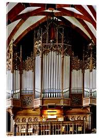 Cuadro de metacrilato  Organ in St. Thomas Church, Leipzig music trail - imageBROKER