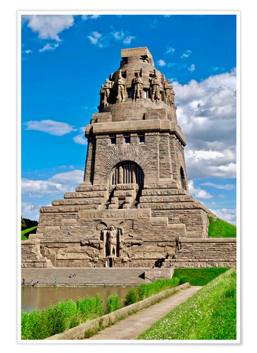 Póster The Monument to the Battle of the Nations