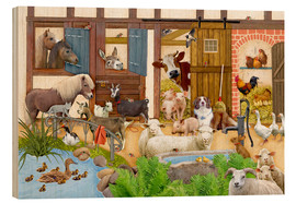 Madera  animals on the farm - Marion Krätschmer