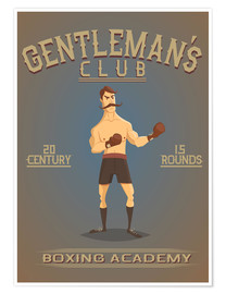 Póster  Boxing Academy