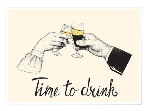 Póster Time to drink