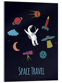 Metacrilato  Space Travel Kid - Kidz Collection