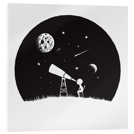 Cuadro de metacrilato  Looking into the stars - Kidz Collection