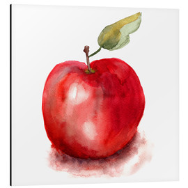 Aluminio-Dibond  Sweet apple watercolor