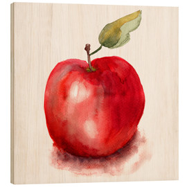 Madera  Sweet apple watercolor
