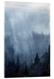 Metacrilato  Mist over the forest