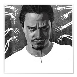 Póster mike patton