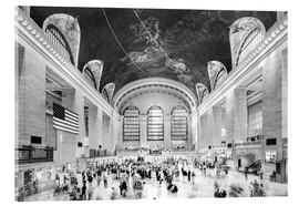 Cuadro de metacrilato  Grand Central Terminal, New York (monochrome) - Sascha Kilmer
