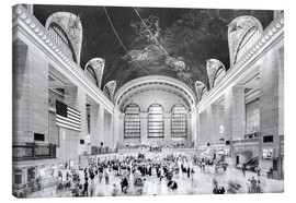 Lienzo  Grand Central Terminal, New York (monochrome) - Sascha Kilmer
