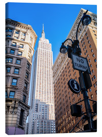 Lienzo  New York City Sky High, Empire State Building - Sascha Kilmer