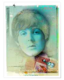 Póster paul mccartney