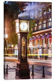 Lienzo  Steam clock in Gastown, Vancouver, Canada - Matteo Colombo