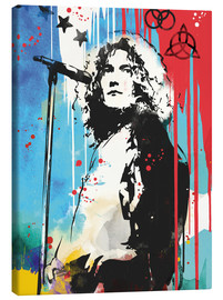 Lienzo  Robert plant led zeppelin art print - 2ToastDesign