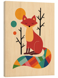 Madera  Rainbow Fox - Andy Westface