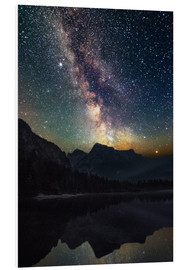 Forex  Milky Way over the mountains - Matthias Köstler