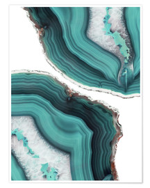 Póster  Sea agate - Emanuela Carratoni