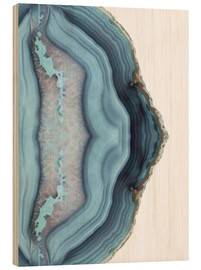 Madera  Light blue agate - Emanuela Carratoni