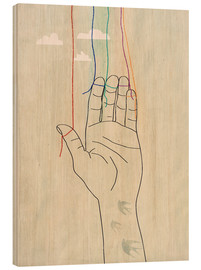 Cuadro de madera  Freedom of expression - Sybille Sterk
