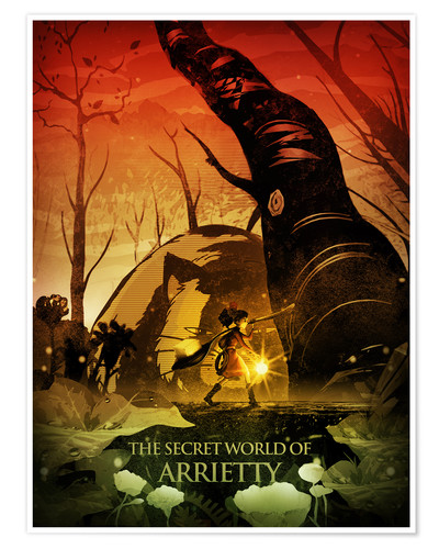 Póster The Secret World of Arrietty