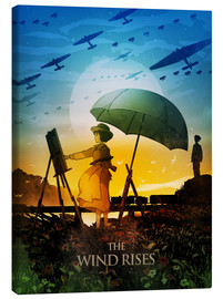 Lienzo  The Wind Rises Poster Lounge - Albert Cagnef