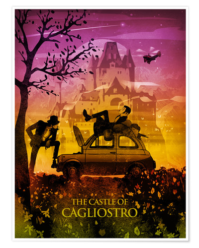 Póster Castle of Cagliostro Poster Lounge