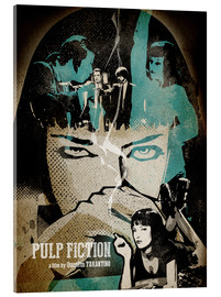 Cuadro de metacrilato  Pulp Fiction - Albert Cagnef
