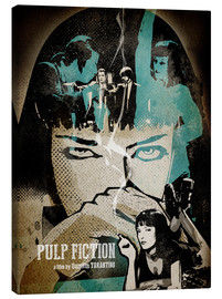 Lienzo  PulpFiction Poster Lounge - Albert Cagnef