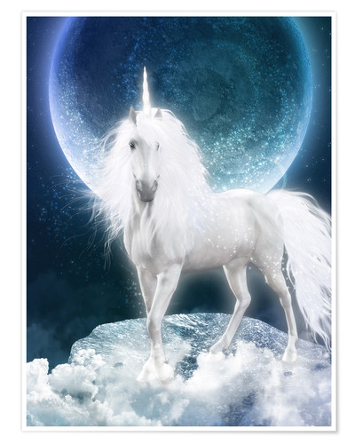 Póster Unicorn - Magicmoon