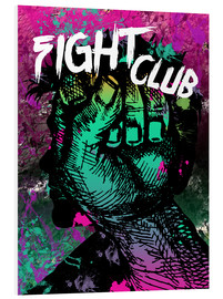 Cuadro de PVC  Fight Club - Minimal alternative movie fanart #1 - HDMI2K